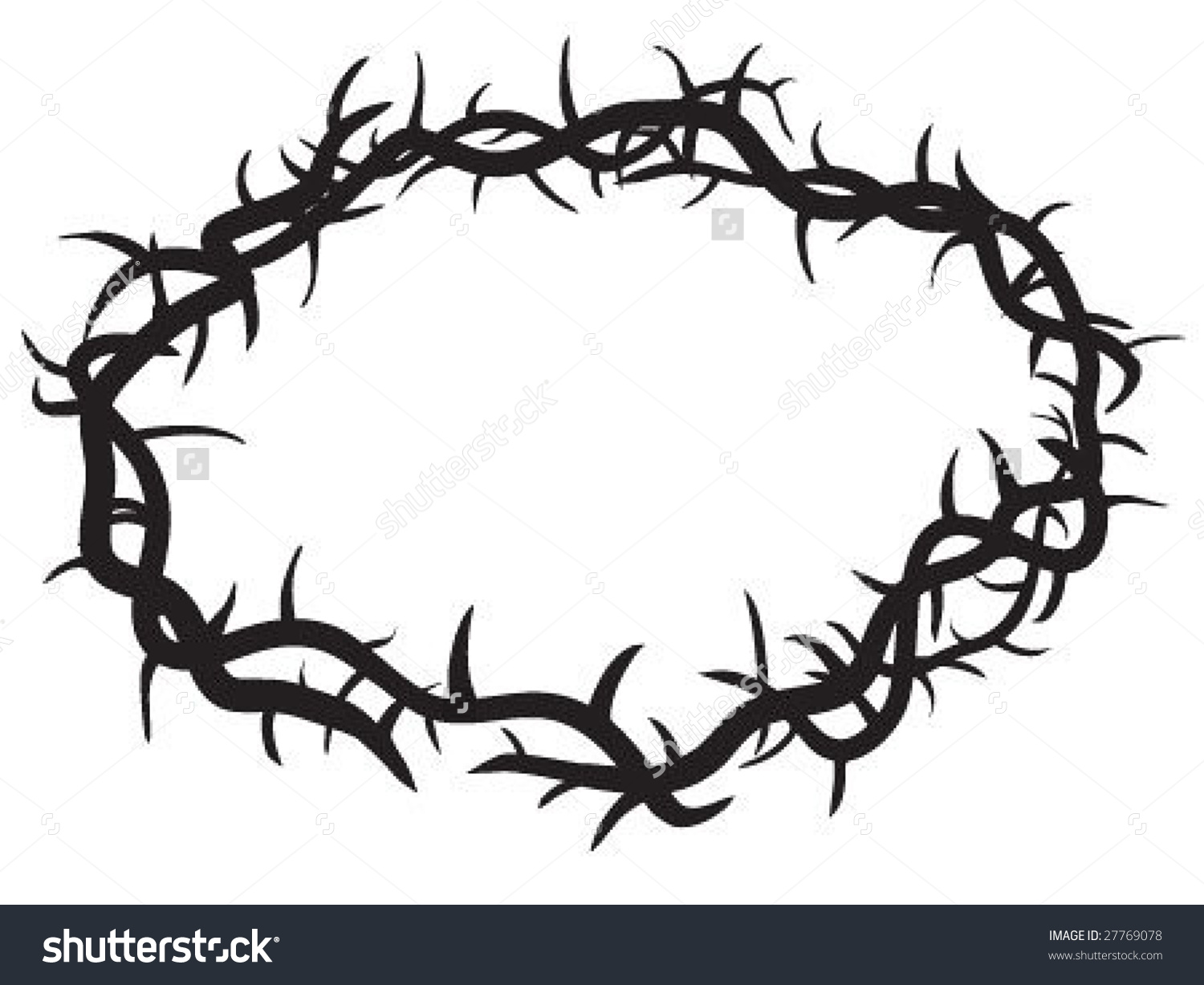 1500x1227 Free Clipart Crown Of Thorns