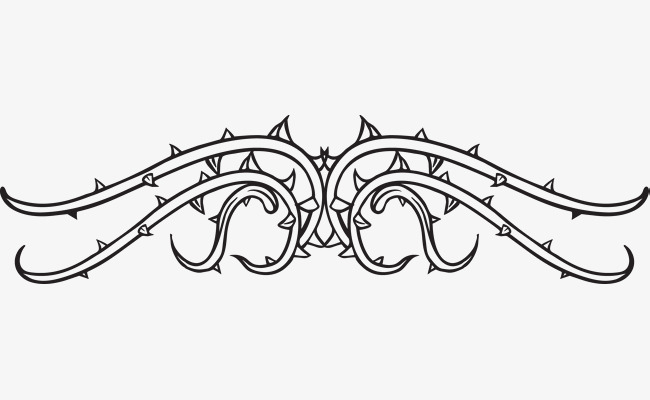 650x400 Thorns Lace Vector, Lace Vector, Vitex, Thorn Png And Vector For