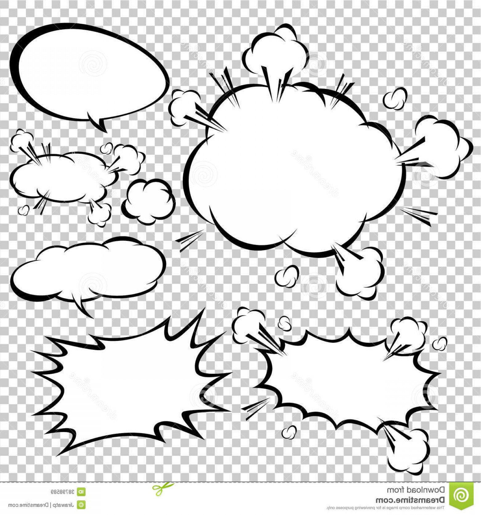 1560x1668 Comic Speech Bubbles Vector Illustration Illustration Shopatcloth