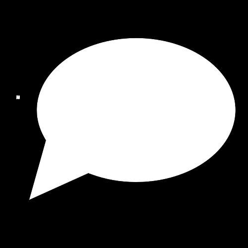 500x500 Comic Talk Bubble Vector Clip Art Public Domain Vectors