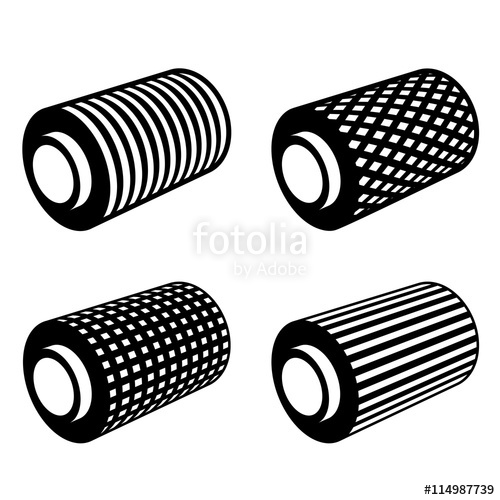 500x500 Roll Of Anything Foil Thread Spool Vector Stock Image And Royalty