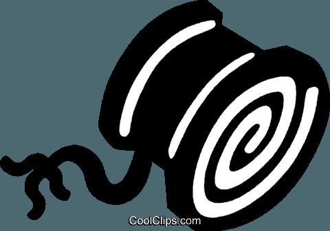 480x337 Thread Spool Royalty Free Vector Clip Art Illustration Vc024327
