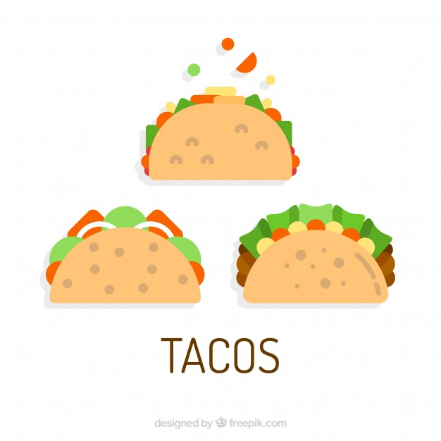 626x626 Three Taco Vectors Vector Free Download