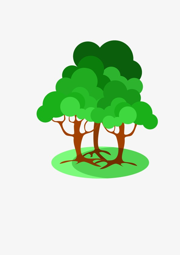 595x842 Vector Three Trees, Hd, Three Vector, Trees Vector Png And Vector