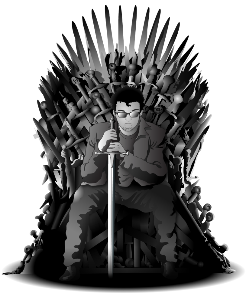 Throne Vector