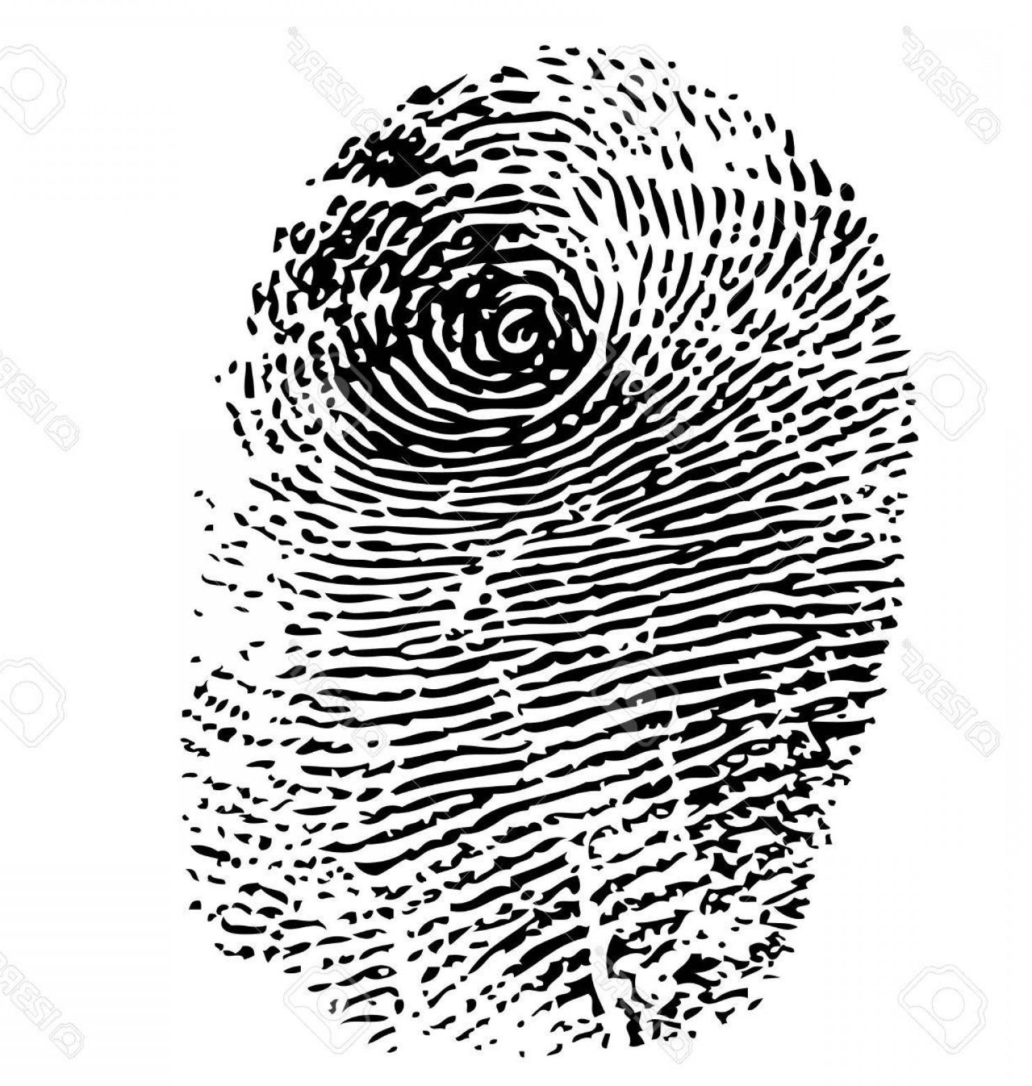 1482x1560 Photostock Vector Fingerprint Vector Isolated On White Createmepink