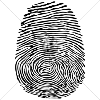 325x325 Thumb Print With Male Gender Symbol Gl Stock Images