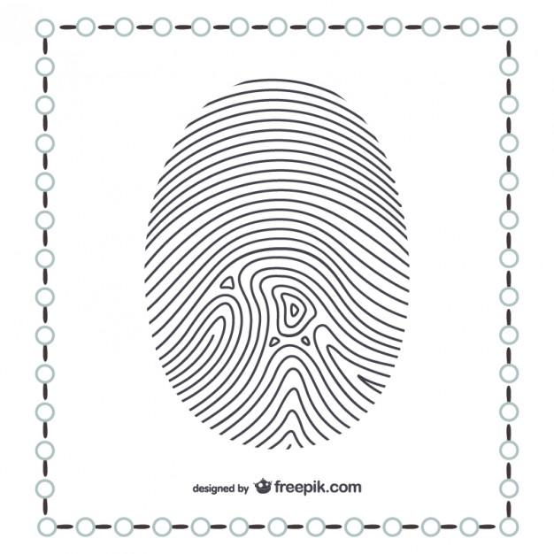 626x626 Thumb Fingerprint Vector Free Download