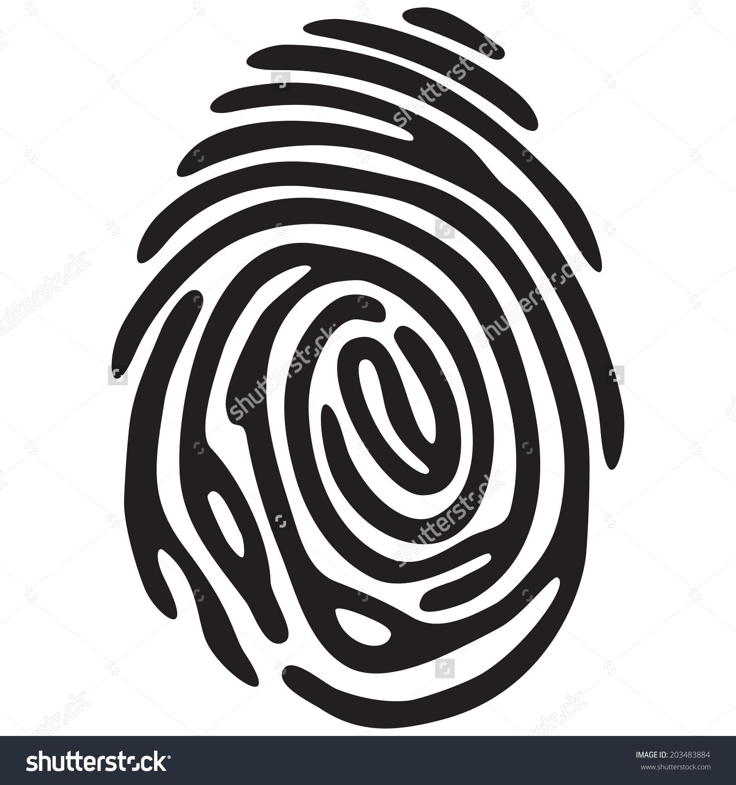 1500x1600 Thumbprint Clipart