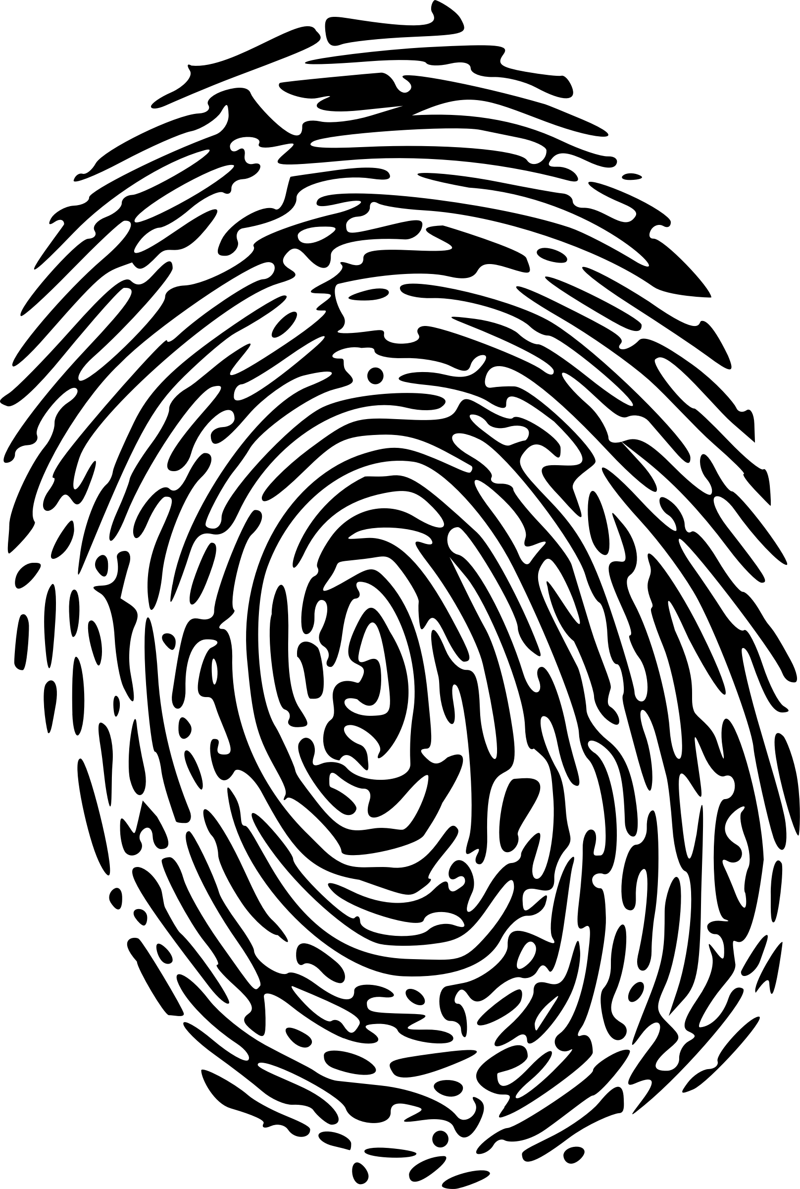 Thumbprint Vector