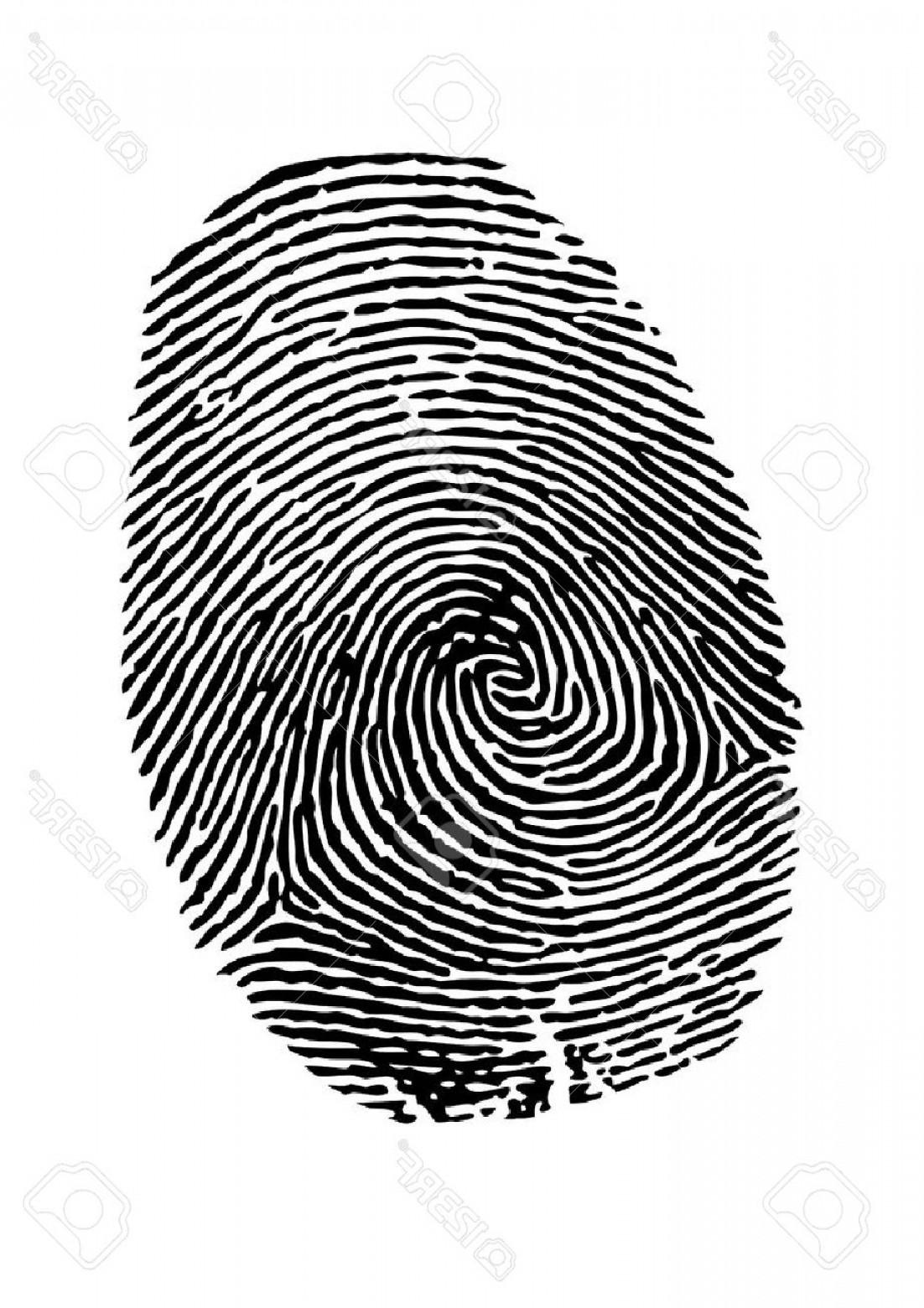 1102x1560 Photostock Vector Vector Fingerprint On White Background