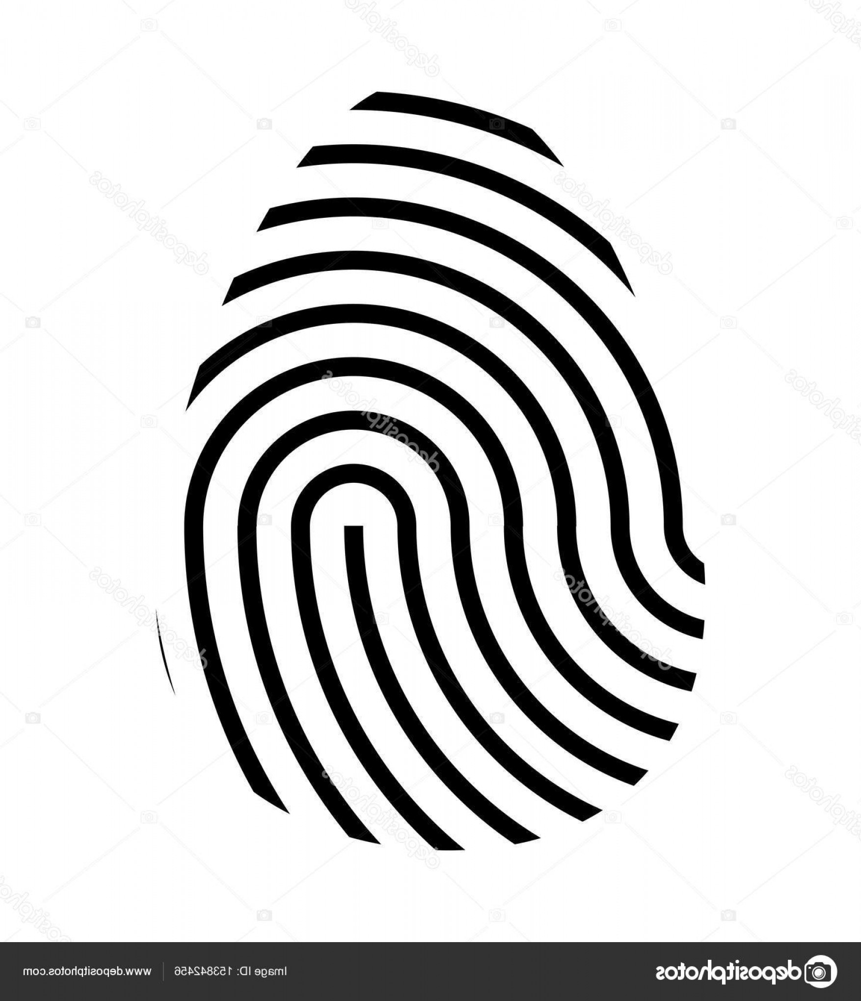 1754x2040 Stock Illustration Fingerprint Logo Vector Symbol Icon Createmepink