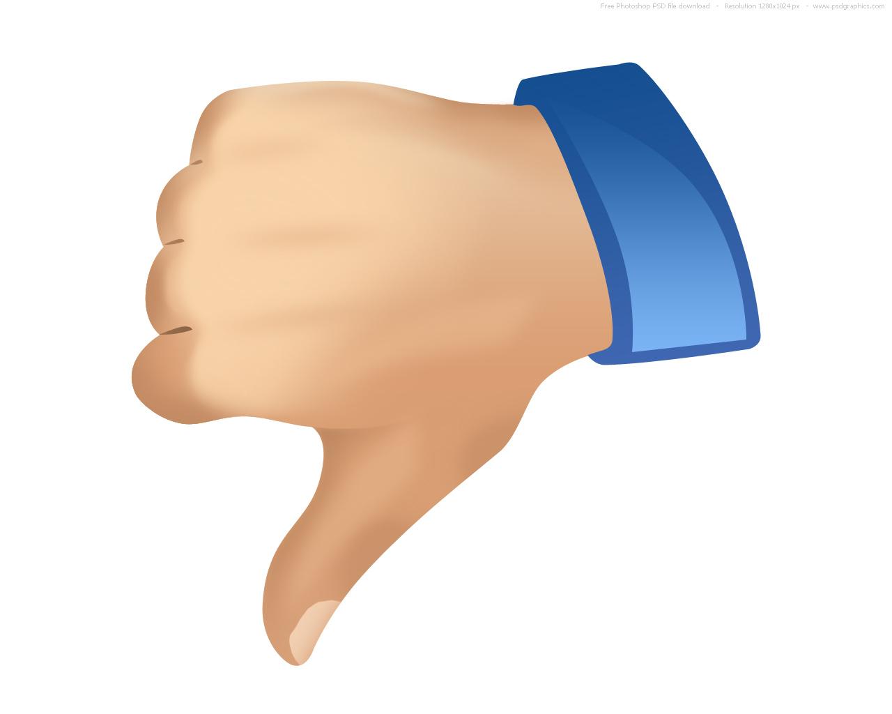 1280x1024 Free Thumb Down Icon 383441 Download Thumb Down Icon