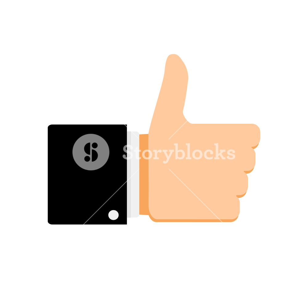 1000x1000 Like Symbol Thumb Up. Like Button Thumbs Up, Vector Like Icon For