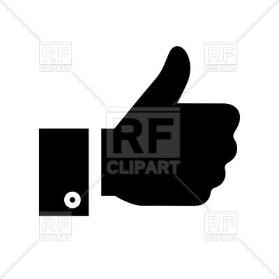 400x400 Thumbs Up Icon Vector Image Vector Artwork Of Signs, Symbols