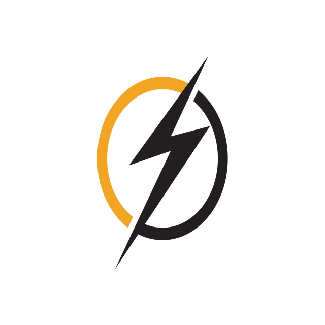 640x640 Flash Thunder Bolt Logo, Isolated, Lightning, Load Png And Vector