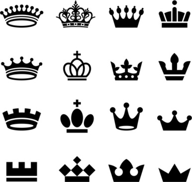 387x368 Crown Silhouette Vector Free Vector Download (6,209 Free Vector