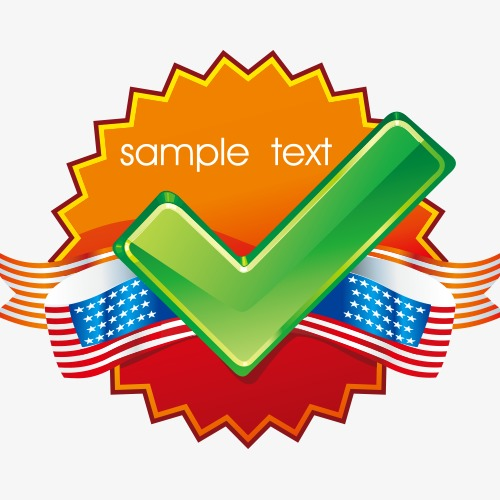 500x500 Tick U200bu200bvector Creative Label, Tick Vector, Label Vector, Icon Png