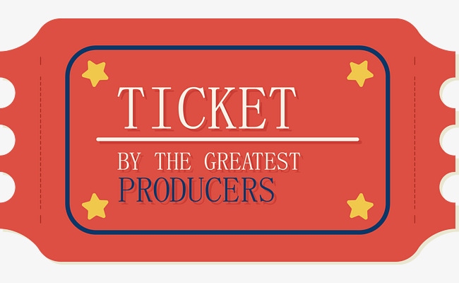 650x400 Red Movie Ticket, Movie Vector, Ticket Vector, Red Png And Vector