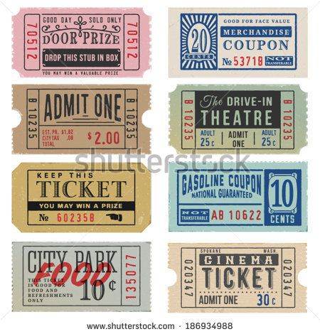 450x470 Carnival Ticket Vector Free Vector Download (313 Free Vector) For