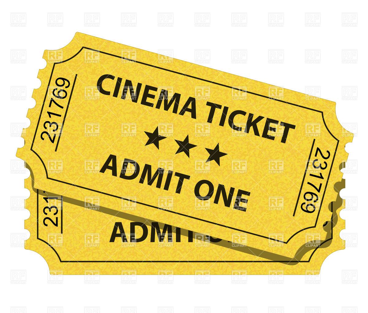 1200x1022 Cinema Ticket Vector Image Vector Artwork Of Objects Frbird