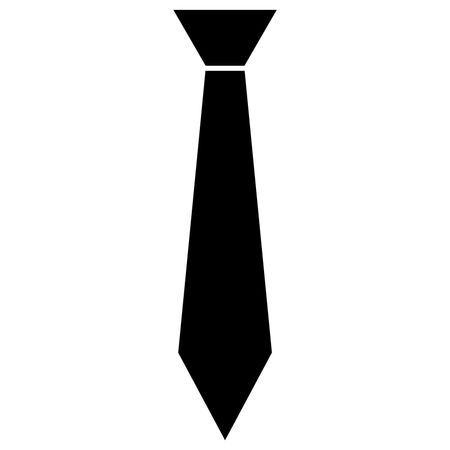 450x450 Vector Illustration Of Tie Icon In Black Freestock Icons