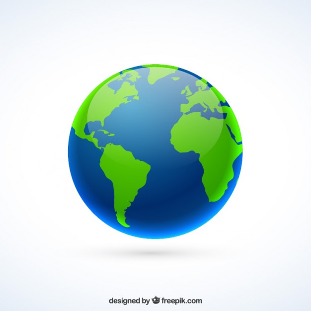 626x626 The Earth Vector Free Download