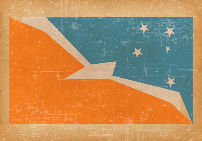 700x490 Tierra Del Fuego Province Argentina Grunge Flag