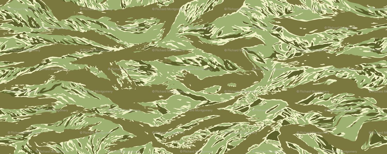 1500x598 Desert Tiger Stripe Camo Wallpaper