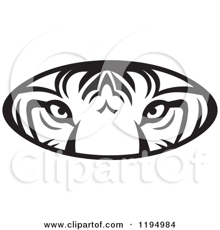 450x470 Tiger Eyes Clipart Free