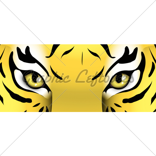 500x500 Eyes Of A Tiger Gl Stock Images