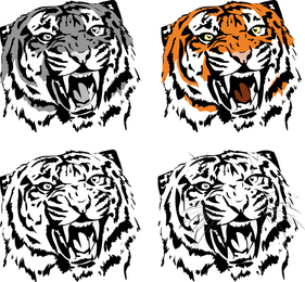 281x260 Tiger Vector Amp Graphics To Download