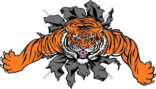 500x287 Tiger Mascot Clipart Amp Tiger Mascot Clip Art Images