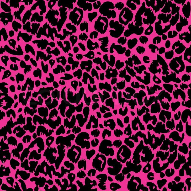 800x800 Seamless Animal Fur Pattern Vector. Cheetah, Leopard Tiger Skin