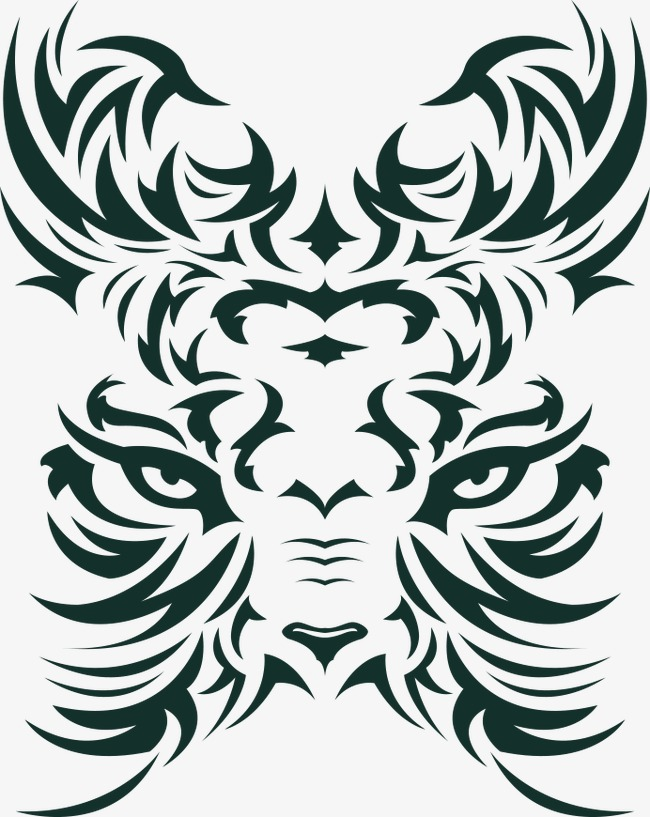 650x817 Tiger T Shirt Printed Pattern Vector, Tiger Vector, Pattern Vector