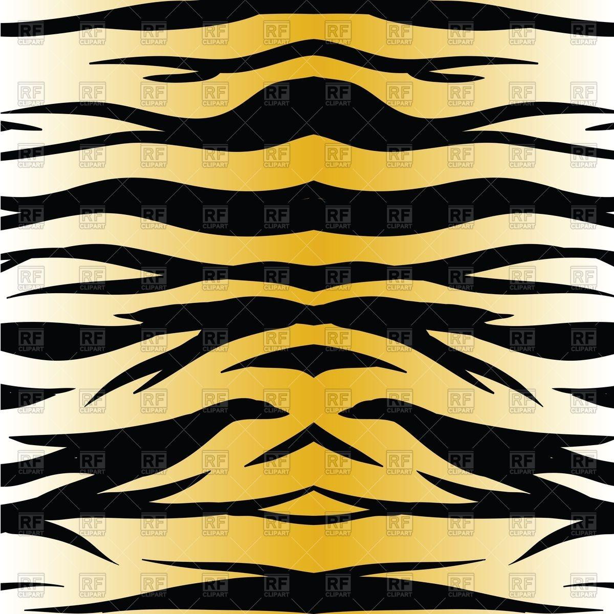 1200x1200 Tiger Skin Pattern Vector Image Vector Artwork Of Backgrounds