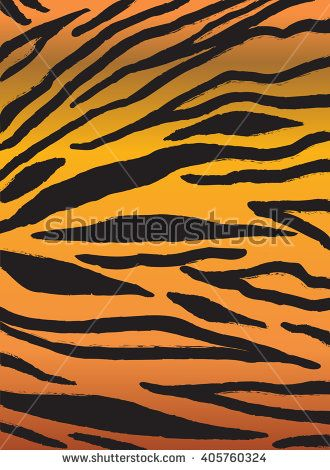 330x470 Abstract Background. Tiger Stripes Pattern. Digital Vector