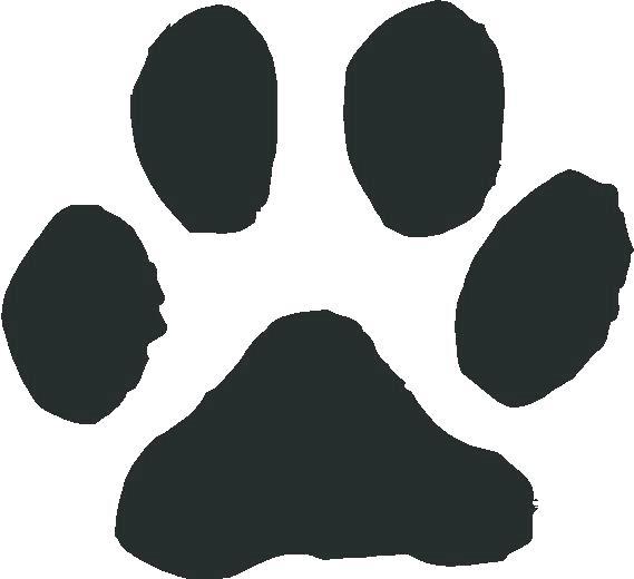569x520 Paw Print Free Clip Art Free Dog Paw Print Vector Download Free