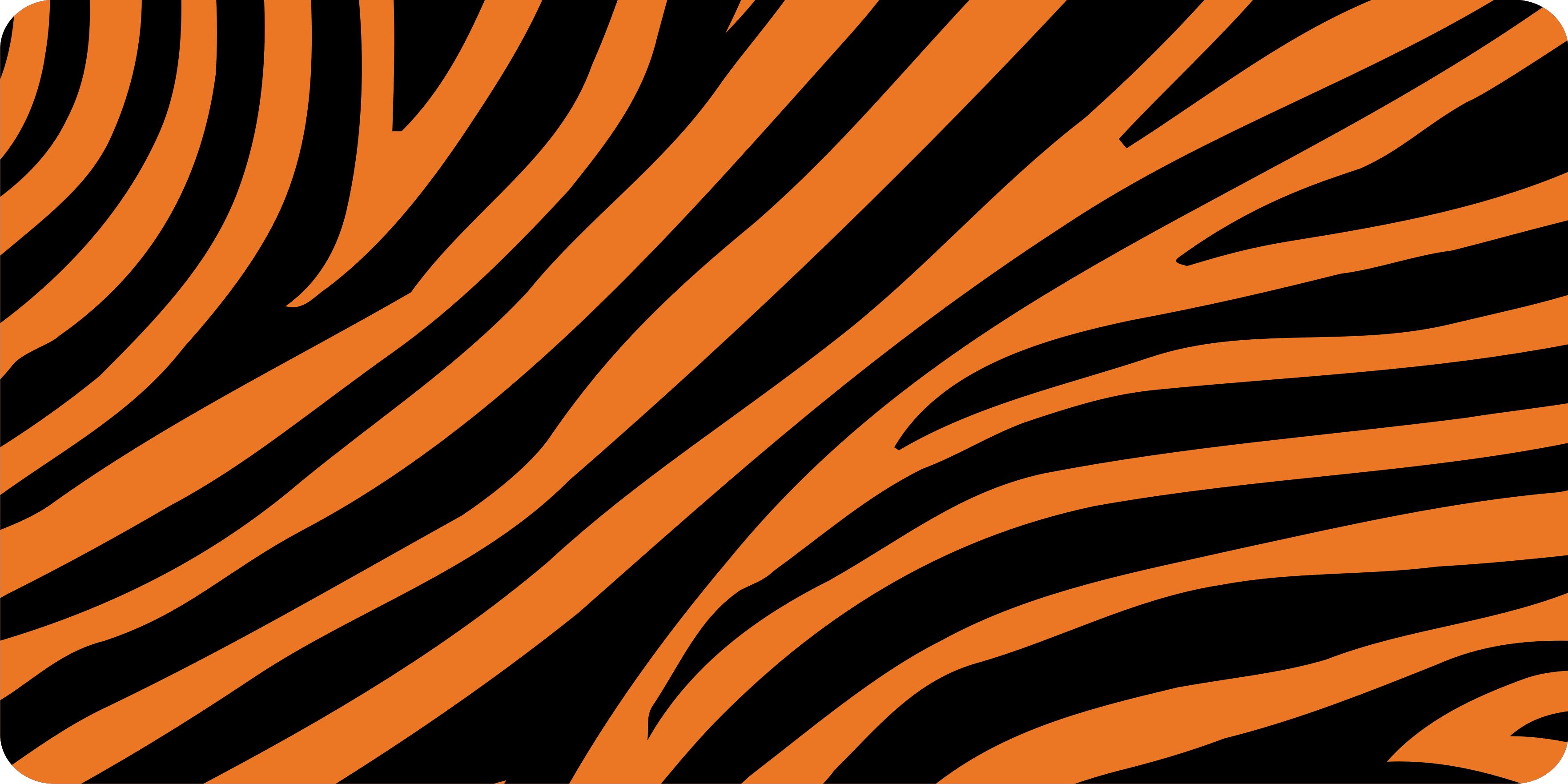 3526x1763 Tiger Print Clipart Tiger Stripe