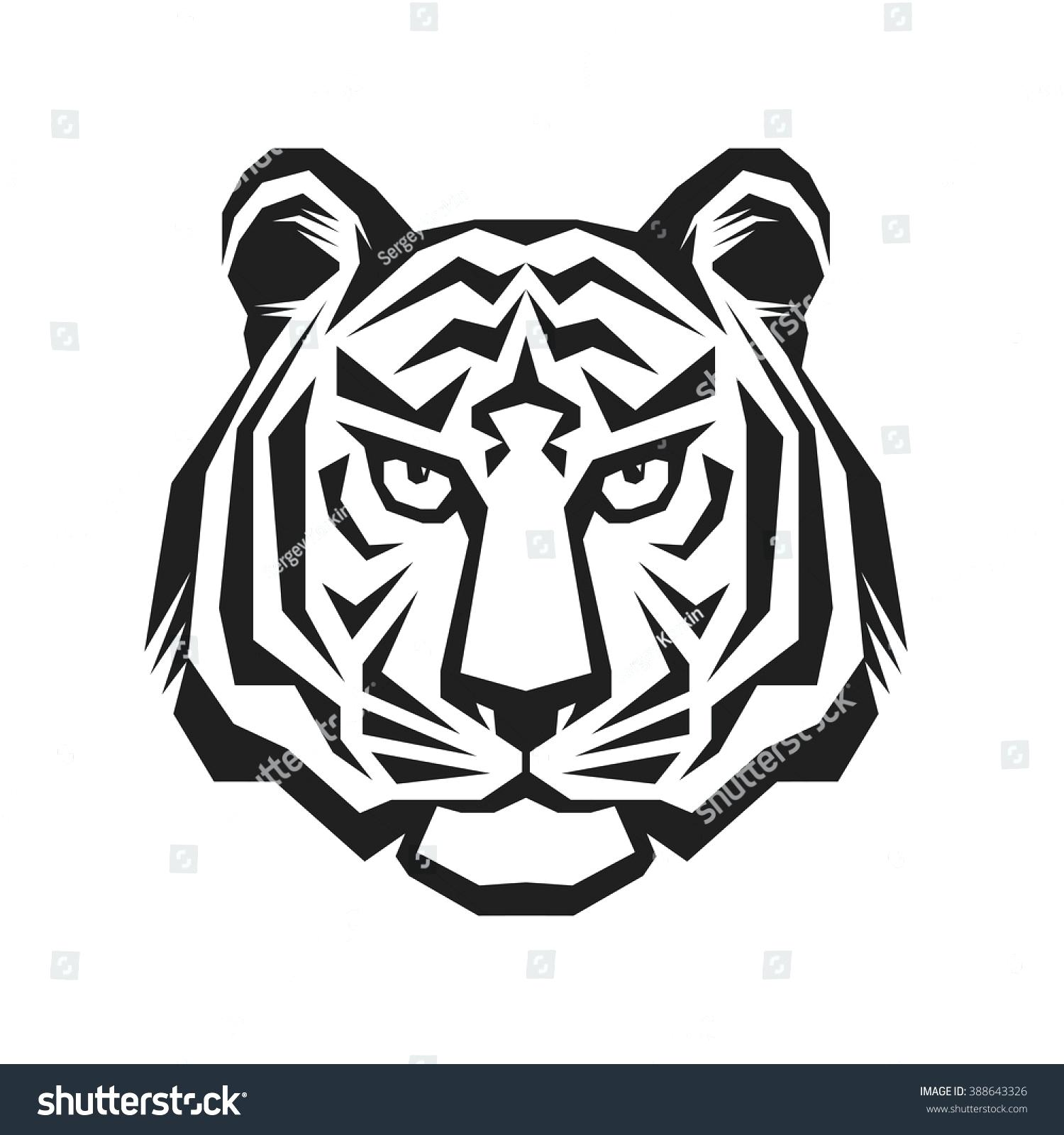 photo relating to Tiger Stripe Stencil Printable referred to as Tiger Stripes Vector at  No cost for person