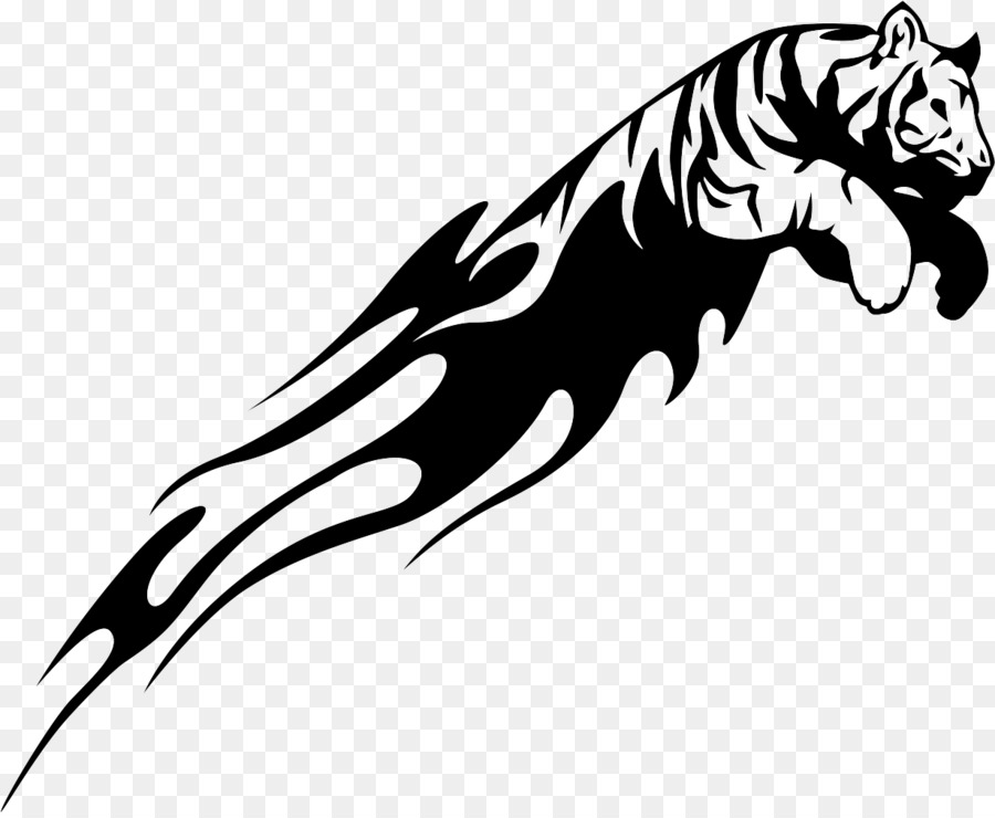 900x740 Tiger Drawing Lion Decal Clip Art