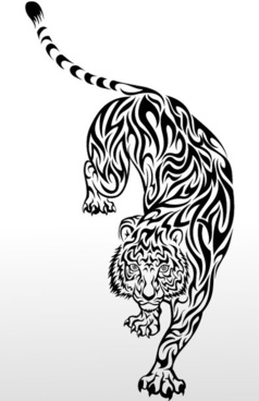 238x368 Tiger Head Free Vector Download (1,821 Free Vector) For Commercial