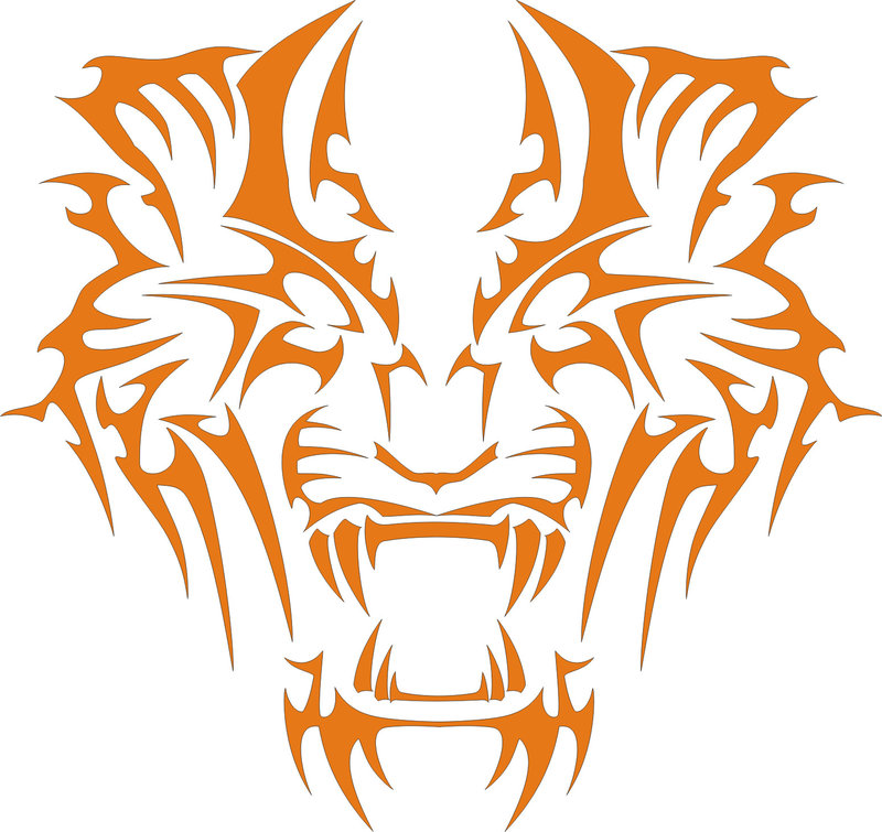 800x755 Tiger Vector Logo By Shangynex