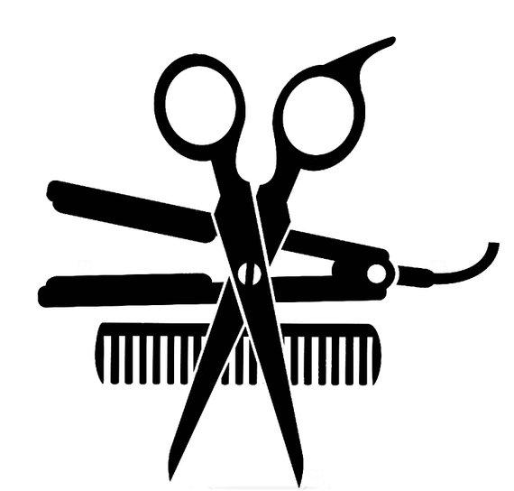 570x544 Salon Beauty Dryer Accessories Hair Shop Scissors Hairdresser Etsy