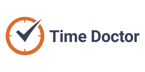 480x240 Time Doctor Vector Logos
