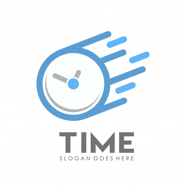 626x626 Time Clock Logo Design Template Vector Premium Download