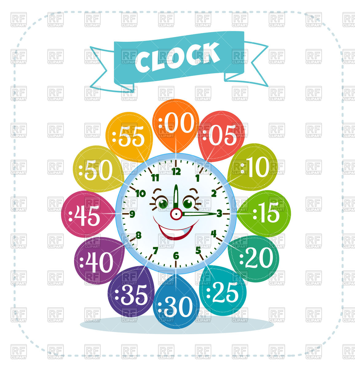 1155x1200 Telling Time Worksheet For School Kids Vector Image Vector