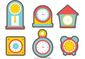 286x200 Time Free Vector Art