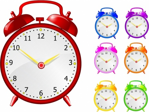 488x368 Time Clock Free Vector Download (1,492 Free Vector) For Commercial