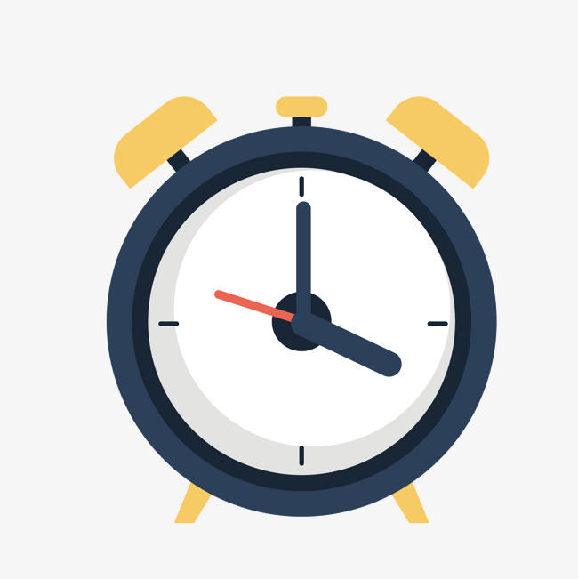 650x651 Blue Alarm Clock, Blue Vector, Clock Vector, Blue Png And Vector